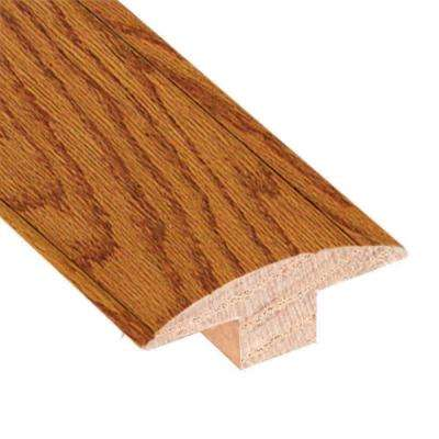 Oak Butterscotch 3/4 in. Thick x 2 in. Wide x 78 in. Length Hardwood T-Molding