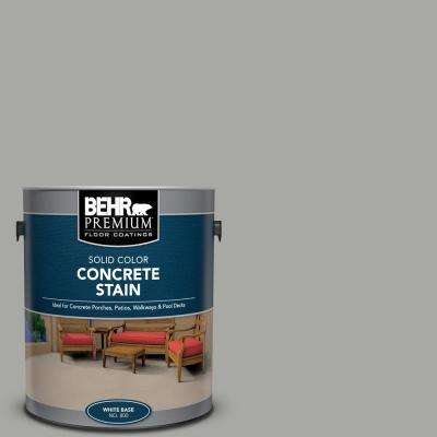 1 gal. #PFC-68 Silver Gray Solid Color Flat Interior/Exterior Concrete Stain