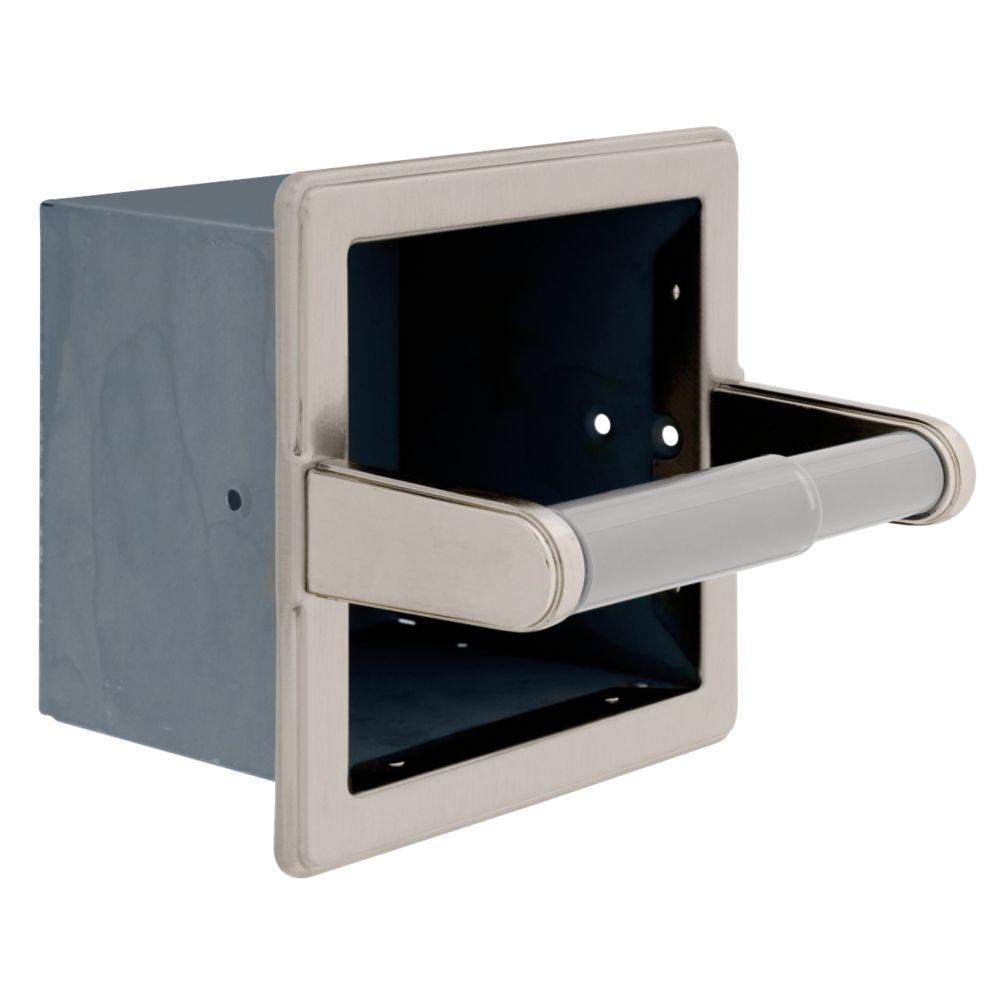 Franklin Brass Recessed Extra Roll Toilet Paper Holder