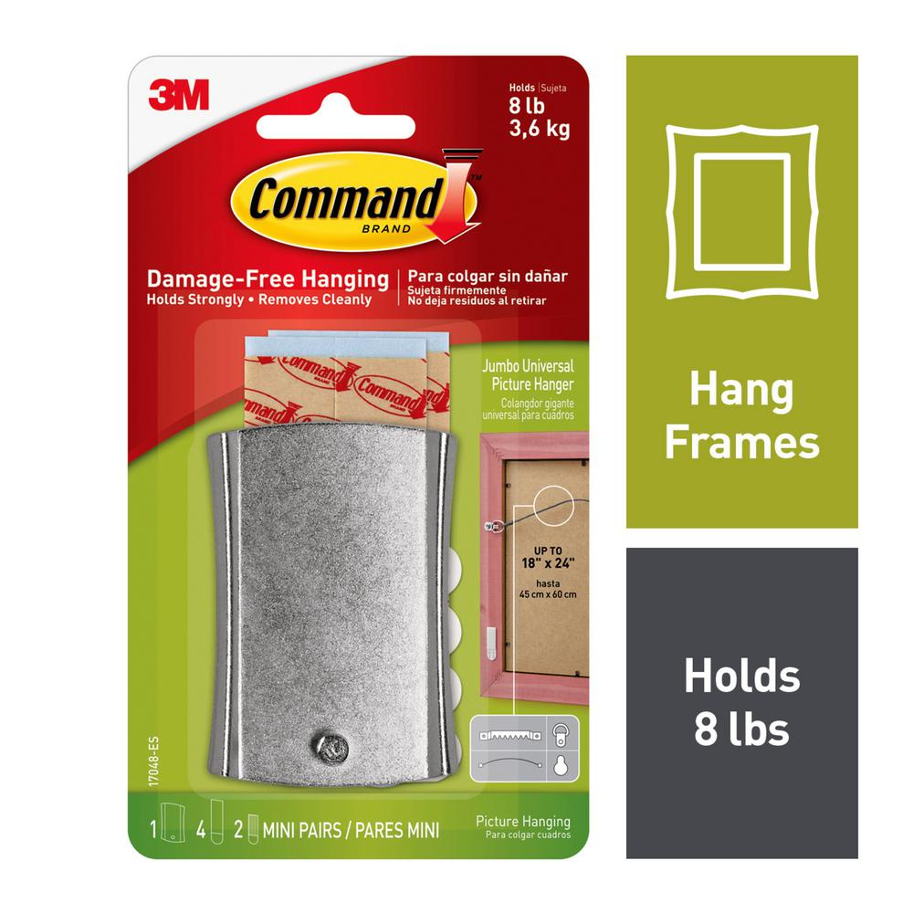 Command 9-Piece Sticky Nail Wire-Back Hanger Kit