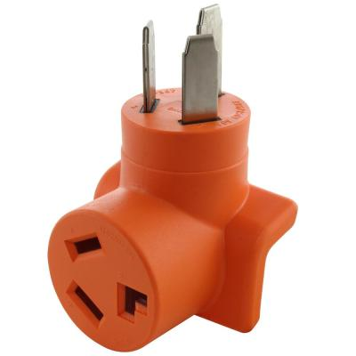 10-50P 50 Amp 3-Prong Old Style Dryer/Range Plug to 10-30R 3-Prong Dryer Outlet