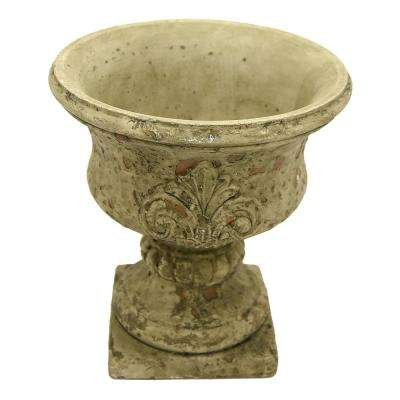 7.5 in. Grey Footed URN Small