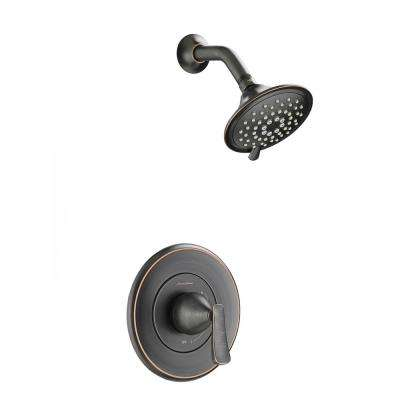 Chatfield Single Handle 3 Spray Shower Faucet In Legacy Bronze Valve Included