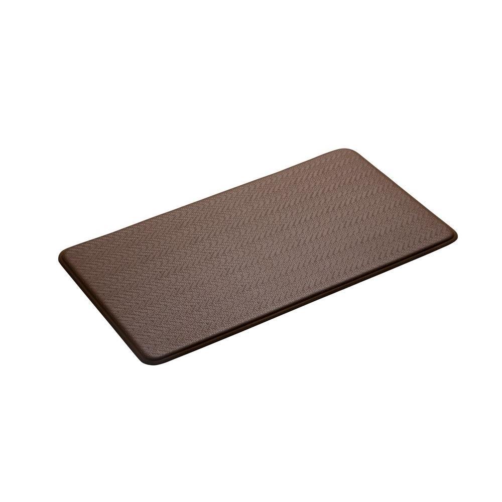 IMPRINT Comfort Mat Cobblestone Latte 20 in. x 72 in. Anti Fatigue Comfort Mat