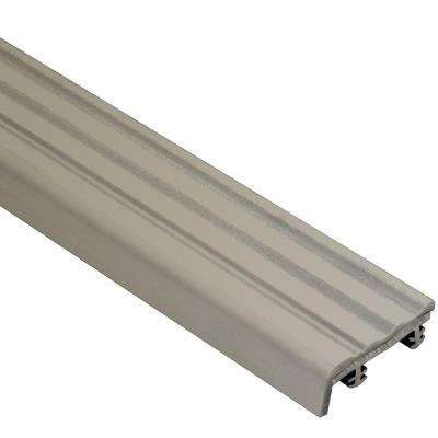 Trep-S Grey 1-1/32 in. x 8 ft. 2-1/2 in. Thermoplastic Rubber Replacement Insert