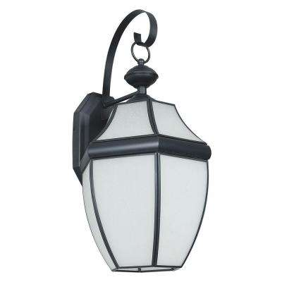 Fergerson 1-Light Black Outdoor Wall Lantern
