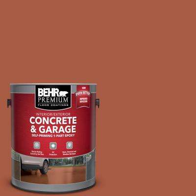 1 gal. #M190-7 Colorful Leaves Self-Priming 1-Part Epoxy Satin Interior/Exterior Concrete and Garage Floor Paint