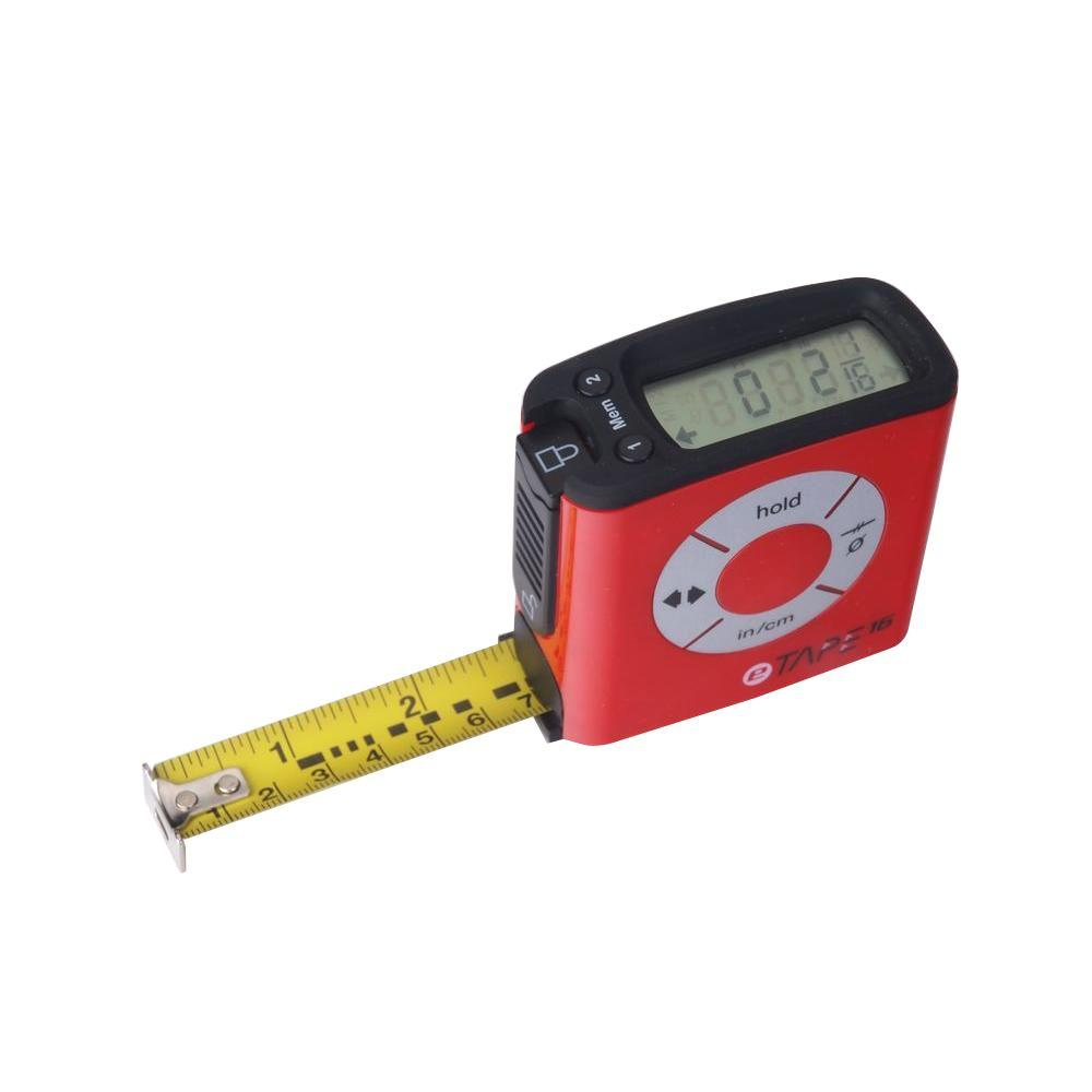 eTape16 16 ft. Digital Tape Measure