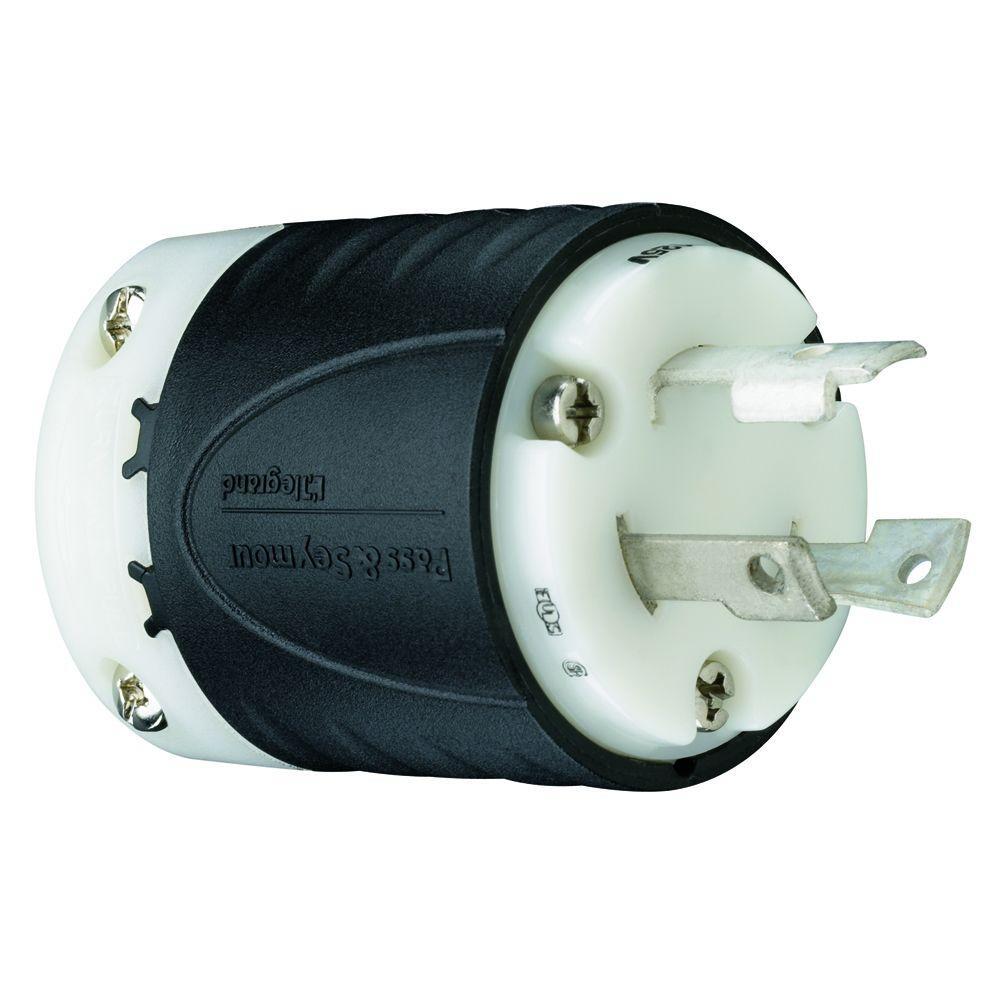 30 Amp 125-Volt Locking Plug