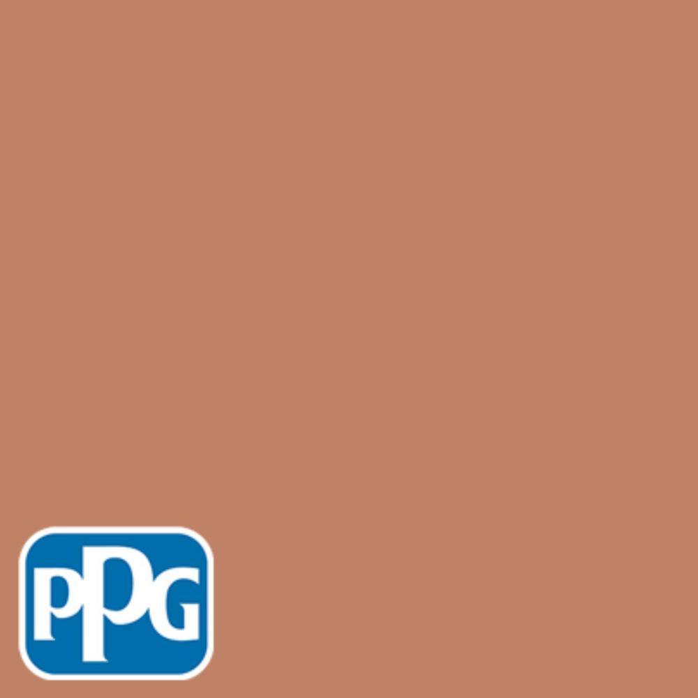 8 oz. #HDPPGO12D Classic Brick Red Flat Interior/Exterior Paint Sample