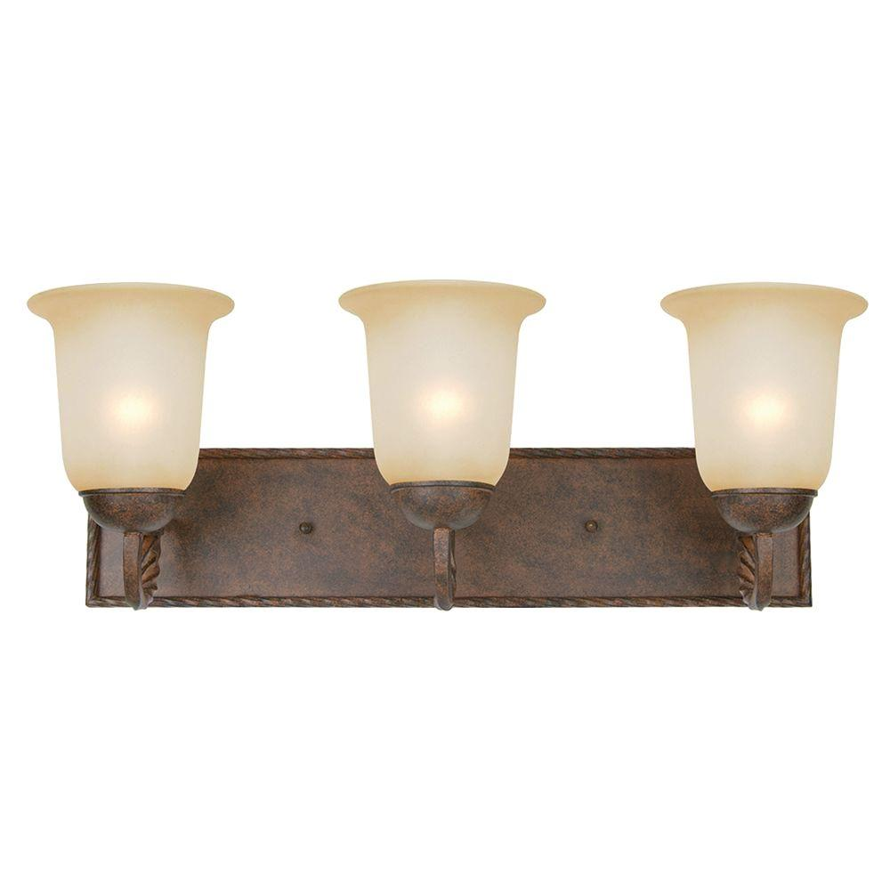 Yosemite Home Decor Mckensi Collection 3 Light Bronze