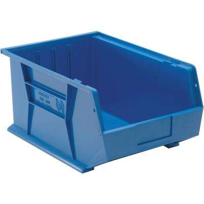 9 Gal. Ultra-Series Stack and Hang Bin, Blue (4-Pack)