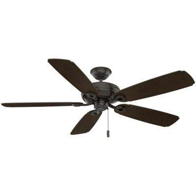 Charthouse 60 in. Outdoor Noble Bronze Ceiling Fan