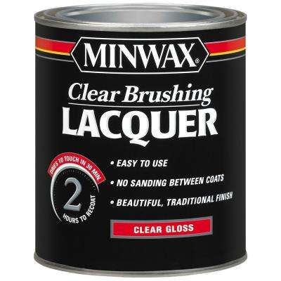 1 qt. Clear Gloss Brushing Lacquer (4-Pack)