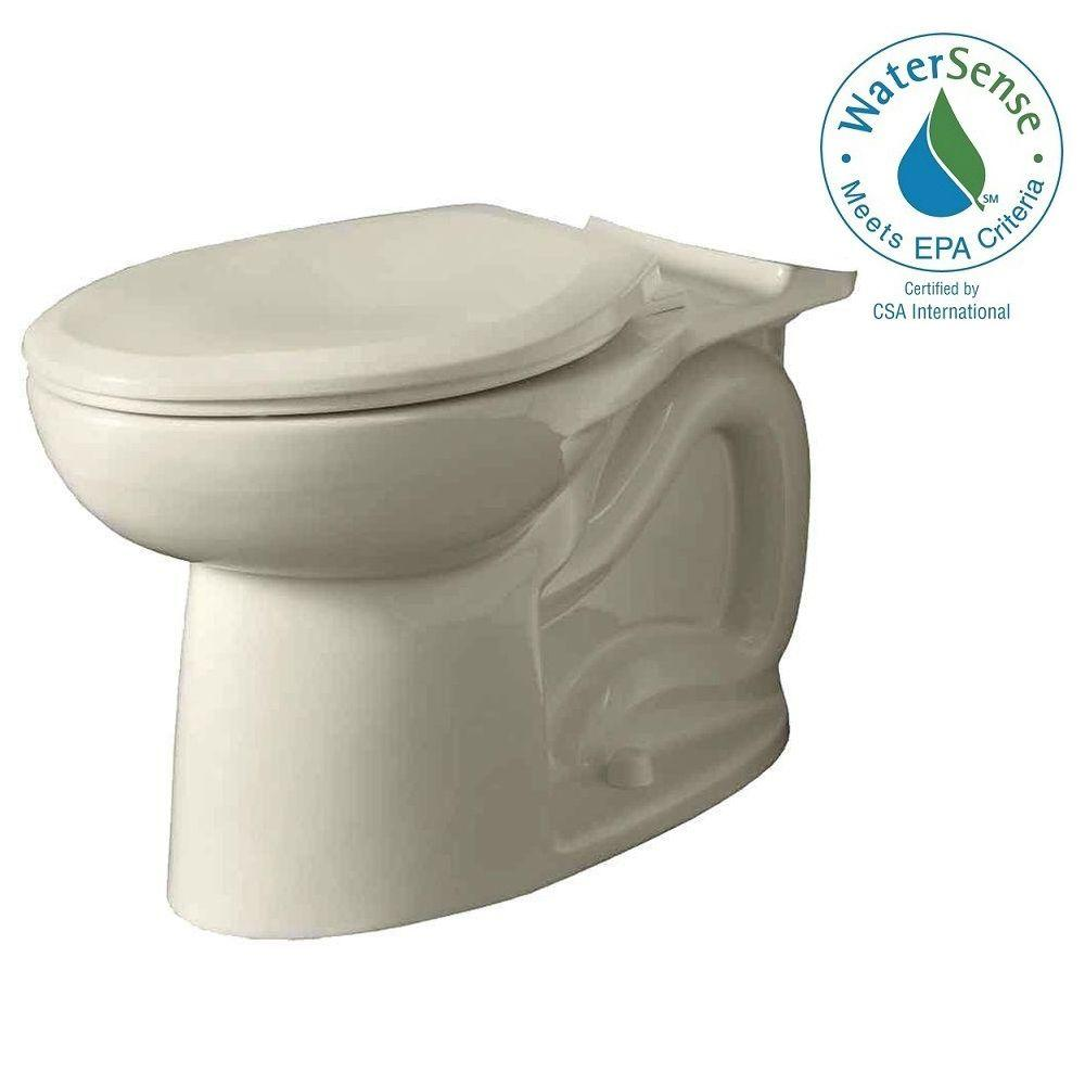 Cadet 3 FloWise Tall Height Elongated Toilet Bowl Only in Linen
