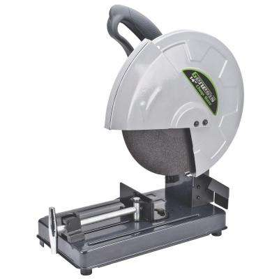 14 in. 15 Amp High Torque Abrasive Chop Saw with Wheel, Adjustable Fence, Spindle Lock and Quick Release Vise