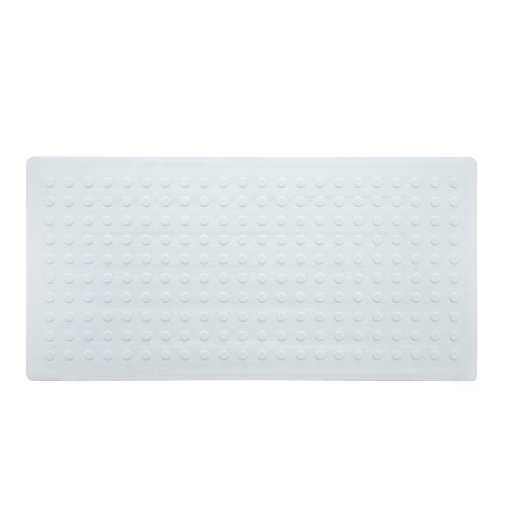 18 in. x 36 in. Extra Long Rubber Bath Safety Mat