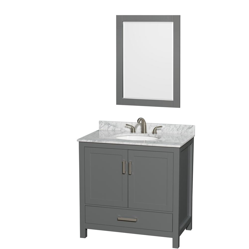 Wyndham Collection Sheffield 36 In W X 22 In D Vanity In