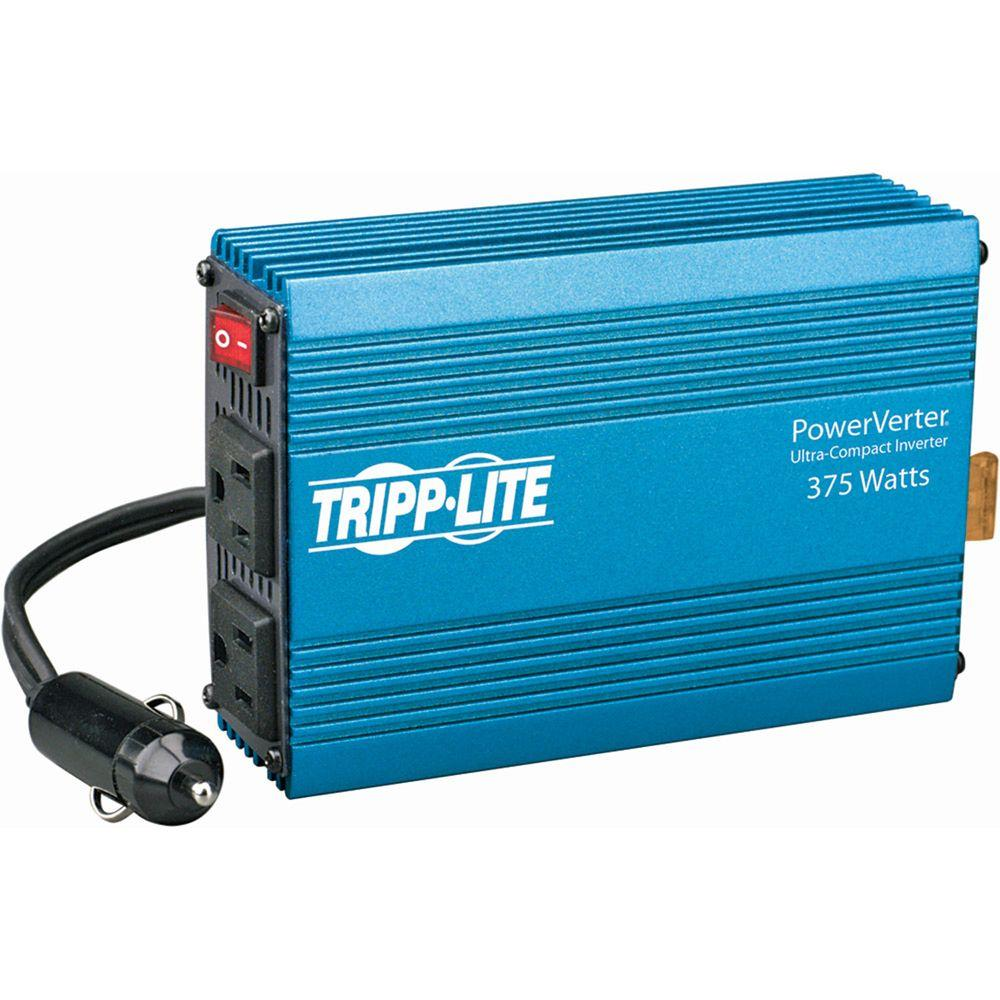 Tripp Lite 375-Watt PowerVerter Ultra-Compact Car Inverte...