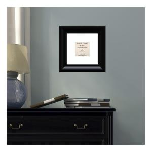 Amanti Art Steinway 4 inch x 4 inch White Matted Black Picture Frame by Amanti Art