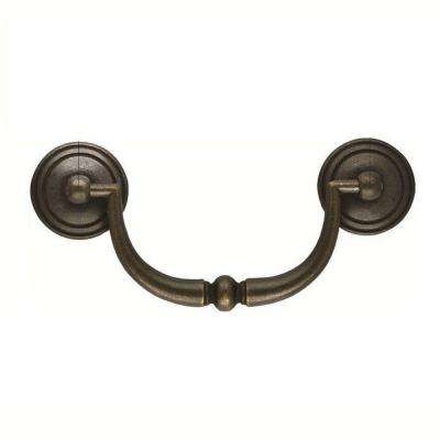 3-1/4 in. Windover Antique Furniture Bail Pull