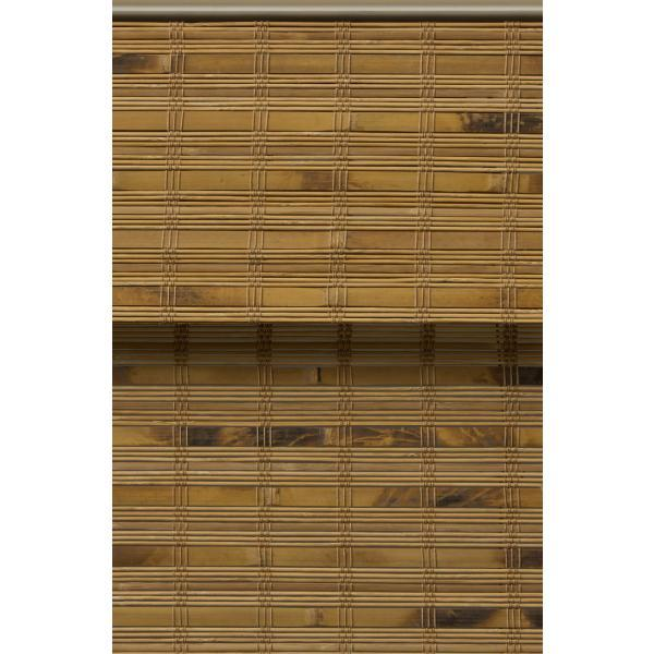Arlo Blinds Dali Native Cordless Light Filtering Bamboo Woven Roman Shade 28 5 In W X 60 In L Actual Size 04cbc284600 The Home Depot