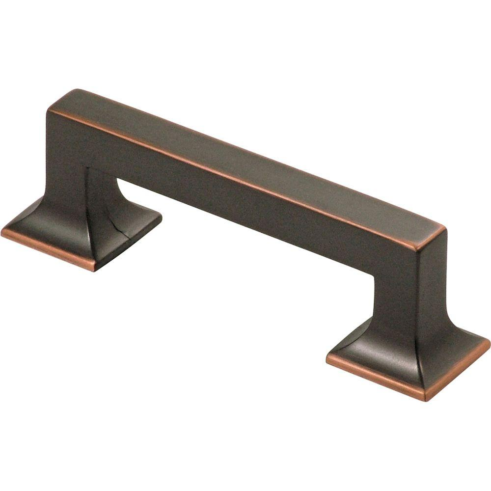 hickory hardware studio 3 in oil rubbed bronze pull - Oil Rubbed Bronze Cabinet Hardware