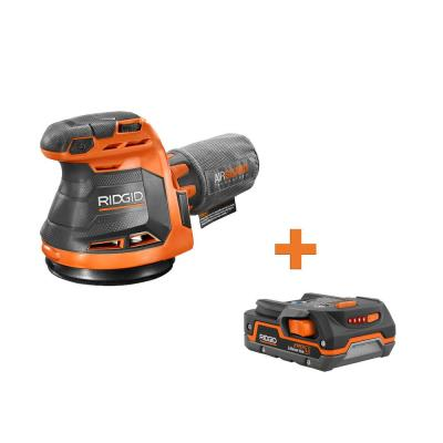 18-Volt Cordless 5 in. Random Orbit Sander with 1.5 Ah Lithium-Ion Battery