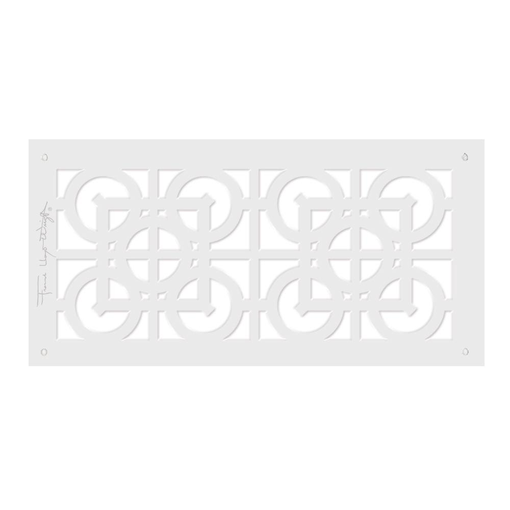 Frank Lloyd Wright Collection 6 in. x 14 in. Luxfer Lattice