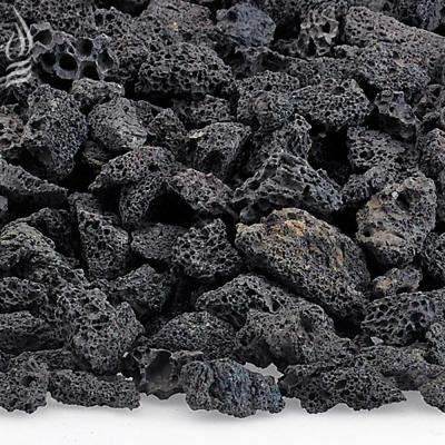 Small Black Lava Rock (1/4 in. - 1/2 in.) 20 lbs. Bag