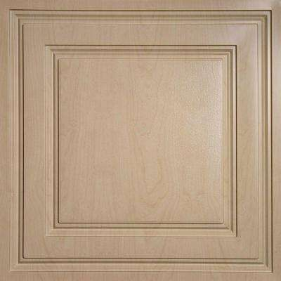 Oxford Faux Wood-Sandal 2 ft. x 2 ft. Lay-in Ceiling Panel (Case of 6)