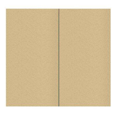 64 sq. ft. Vanilla Fabric Covered Full Kit Wall Panel