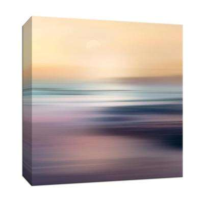 15 in. x 15 in. ''Zuma Beach'' By PTM Images Canvas Wall Art