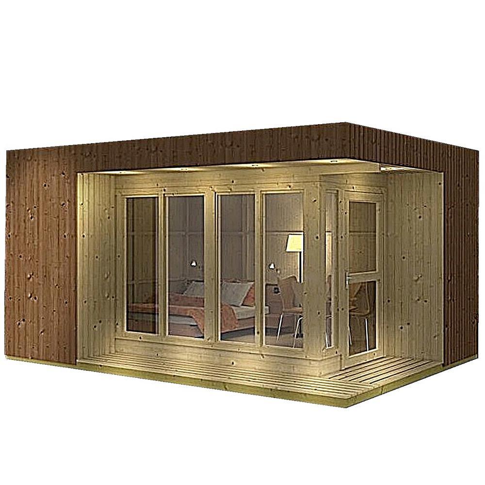 Allwood Arlanda 180 sq  ft  Cabin Kit, Garden House