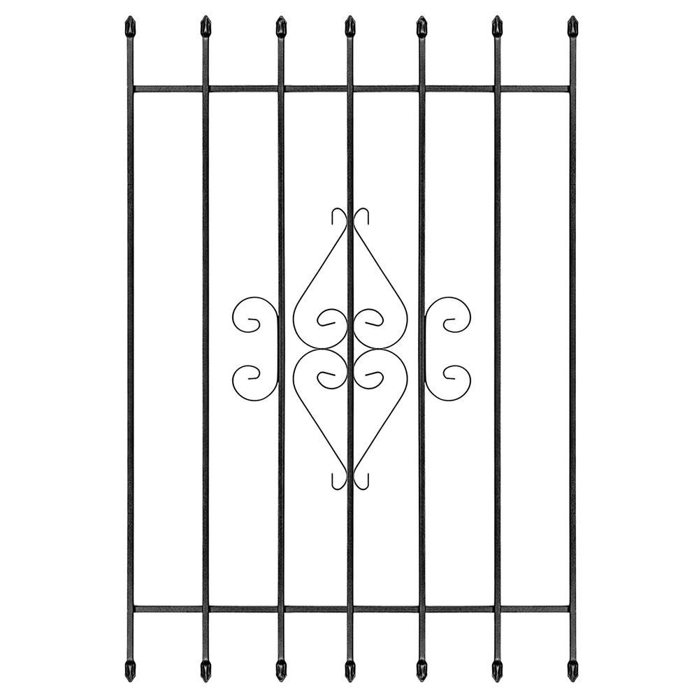 Home Depot Burglar Bars : Unique home designs in su casa black bar