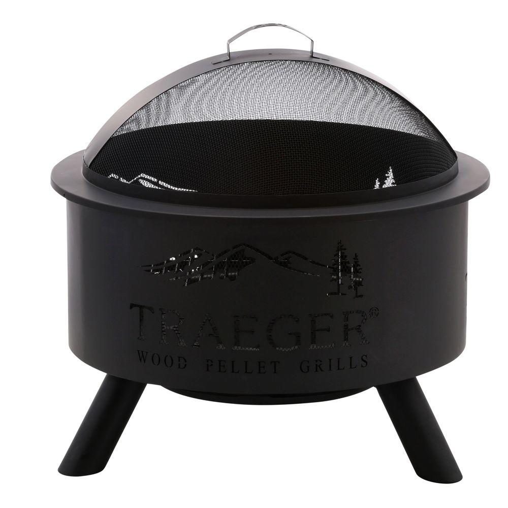Traeger 27.5 in. Steel Outdoor Fire Pit - Traeger 27.5 In. Steel Outdoor Fire Pit-OFP001 - The Home Depot