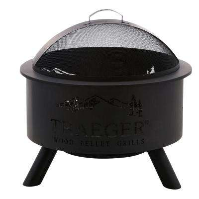 27.5 in. Steel Outdoor Fire Pit