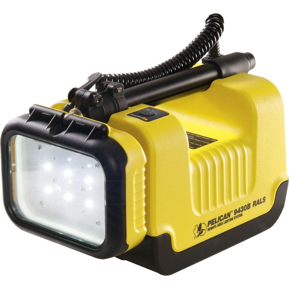 Pelican 9430C Remote Area Lighting System 6 XML Head - Yellow -DISCONTINUED