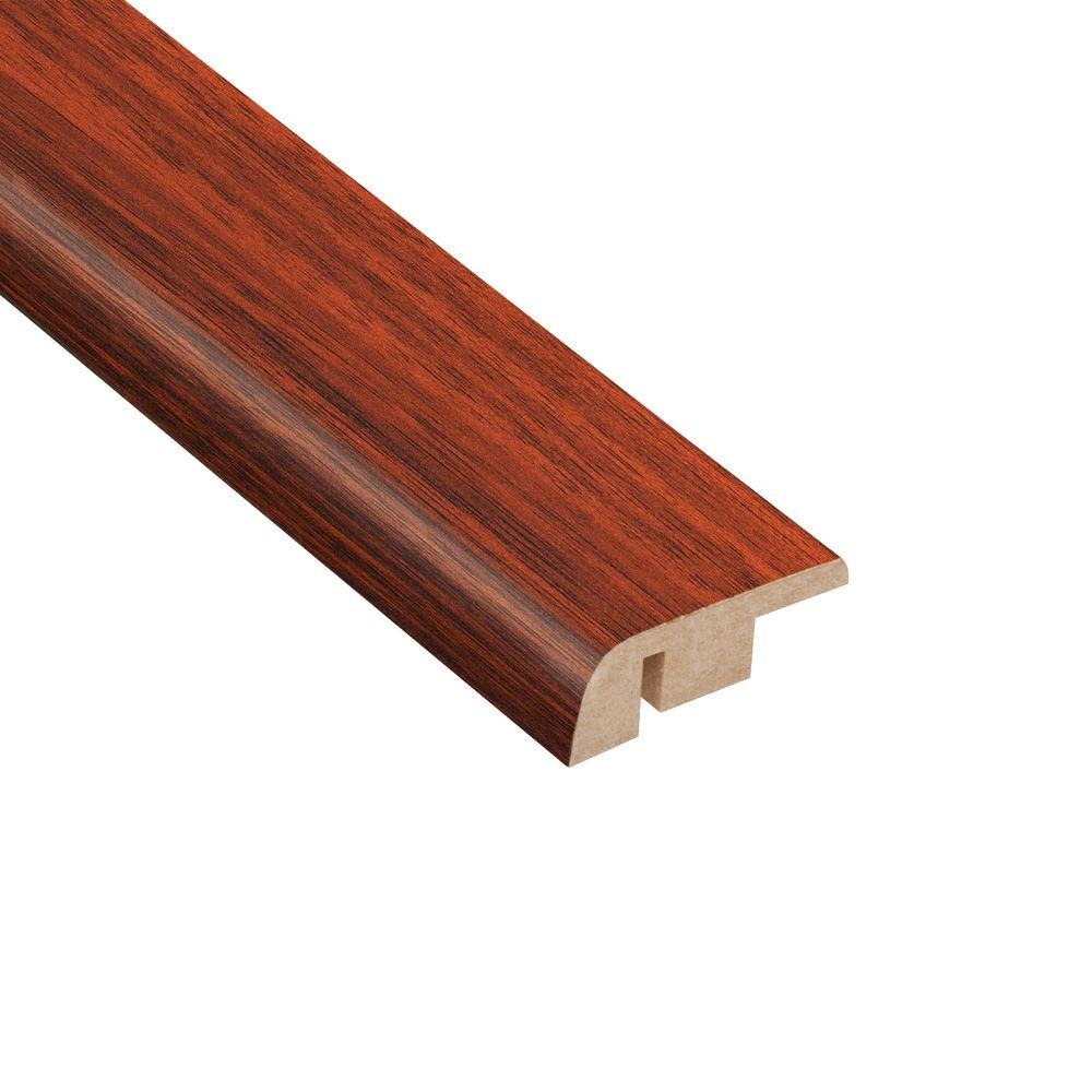 Home Legend High Gloss Brazilian Cherry 1/2 in. Thick x 1-1/4 in. Wide x 94 in. Length Laminate Carpet Reducer Molding