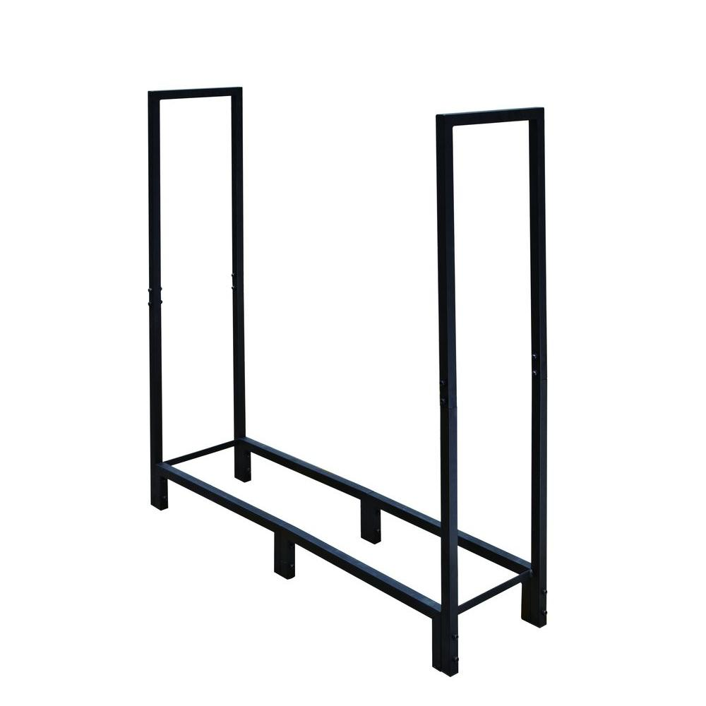 4 ft. Heavy-Duty Firewood Rack-H130B - The Home Depot
