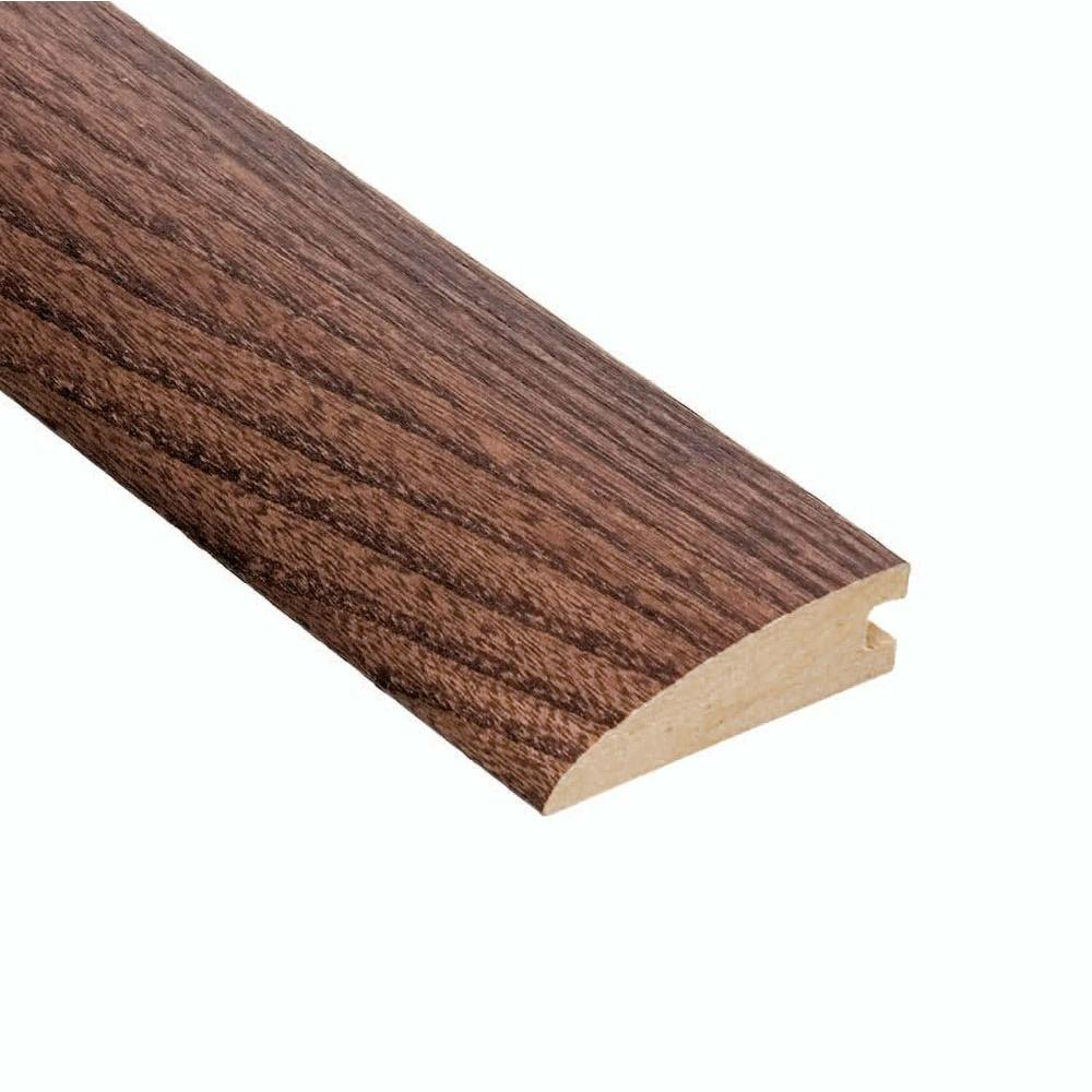 Home Legend Elm Walnut 5/8 in. Thick x 2 in. Wide x 47 in. Length Hardwood Hard Surface Reducer Molding