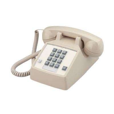Desk Corded Telephone with Flash - Ash