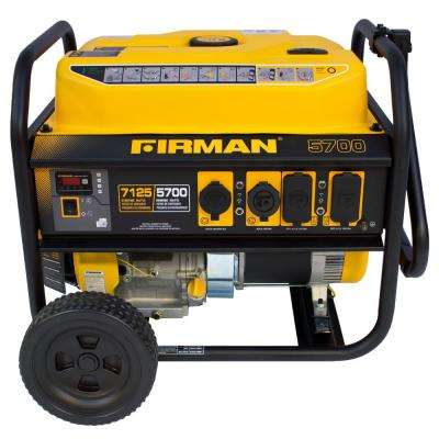 Performance Series 5700-Watt Gasoline Powered Remote Start Portable Generator with Firman Engine