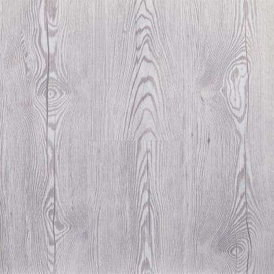 Morning Frost 5.91 in. Width x 48 in. Length Floating Vinyl Plank Flooring (19.69 sq. ft./case)