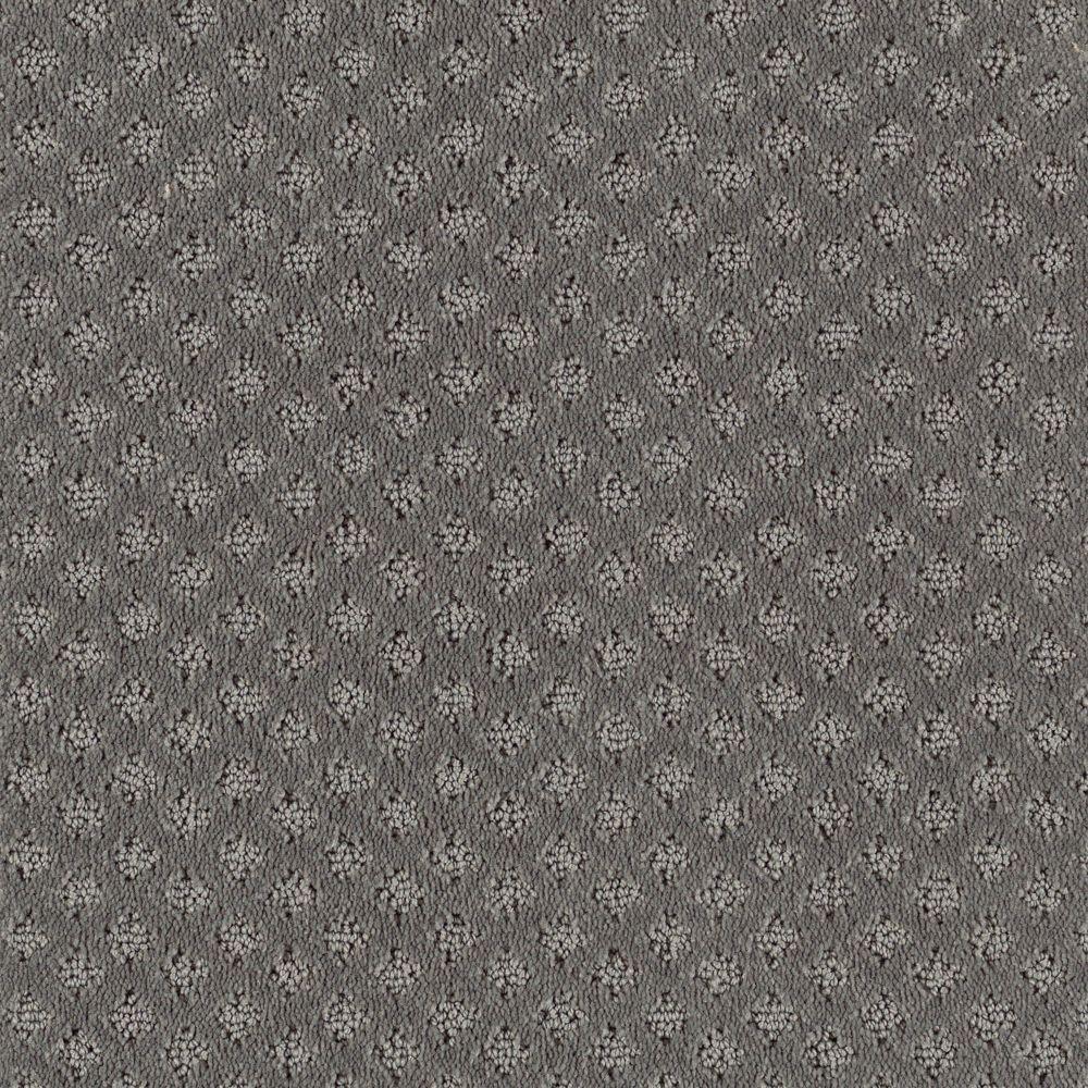 Rapid Install Fast Walk Color Grey Flannel Loop 12 Ft Carpet
