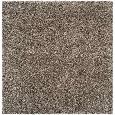 Milan Gray 10 Ft X Square Area Rug