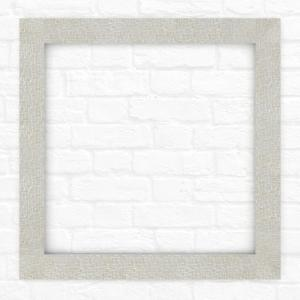 Delta 33 inch x 33 inch (L2) Square Mirror Frame in Stone Mosaic by Delta