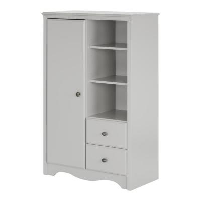 Angel Soft Gray Armoire