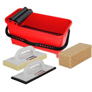 Rubi Cleaning Kit with Bucket, Float and Sponge by Rubi
