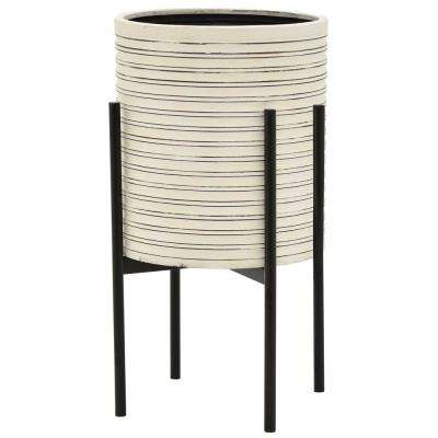 22 in. Metal Planter Stand